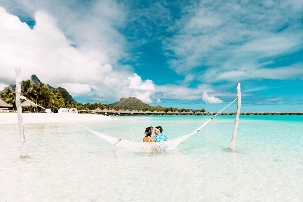 Honeymoon Picture by Marc Gérard Bora Bora Photographer