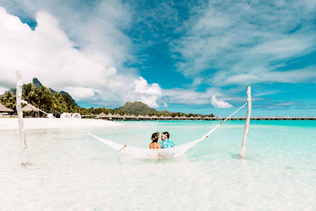 Honeymoon Picture by Marc Gérard Bora Bora Photographer