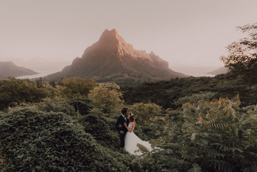 Photographe trash the dress moorea