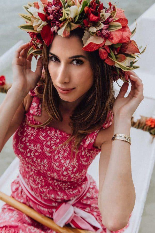 Portrait de femme, Four Seasons Bora Bora