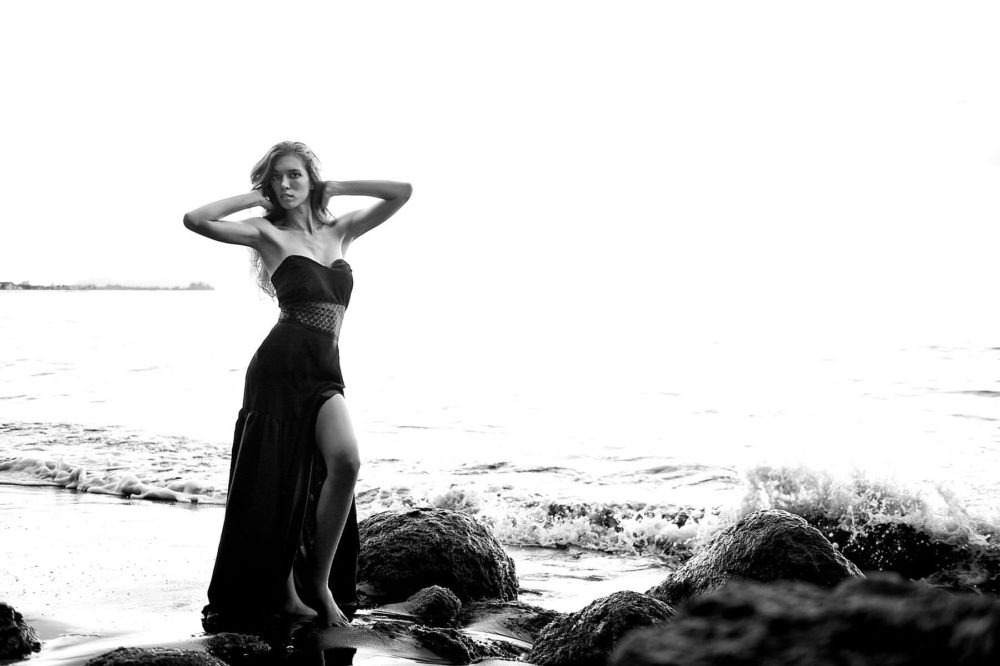 Séance photo mode à Tahiti - Hinarii by Marc Gérard
