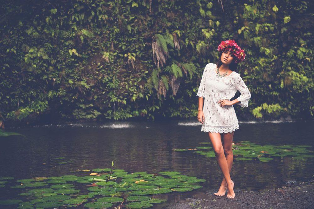 Séance photo portrait Tahiti, Margaux by Marc Gérard