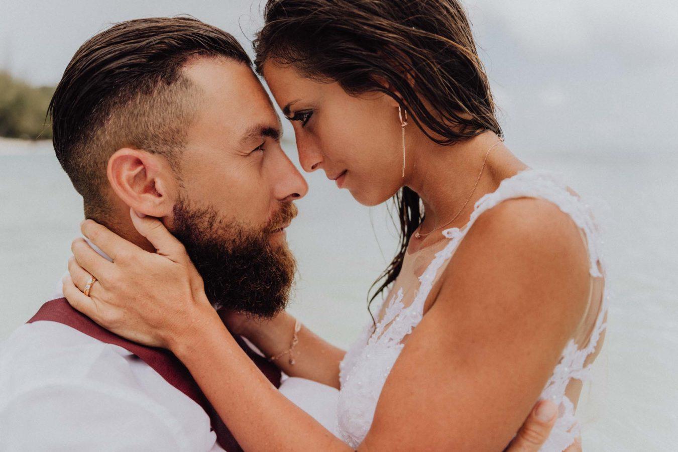 Photographe lune de miel polynesie