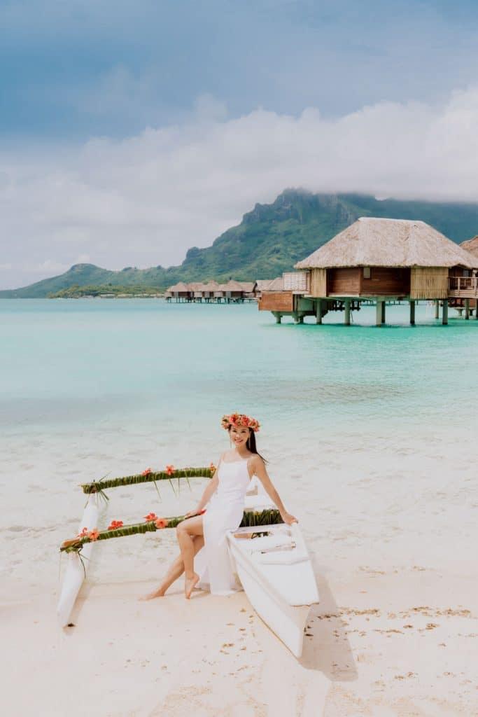 Bora Bora photoshoot