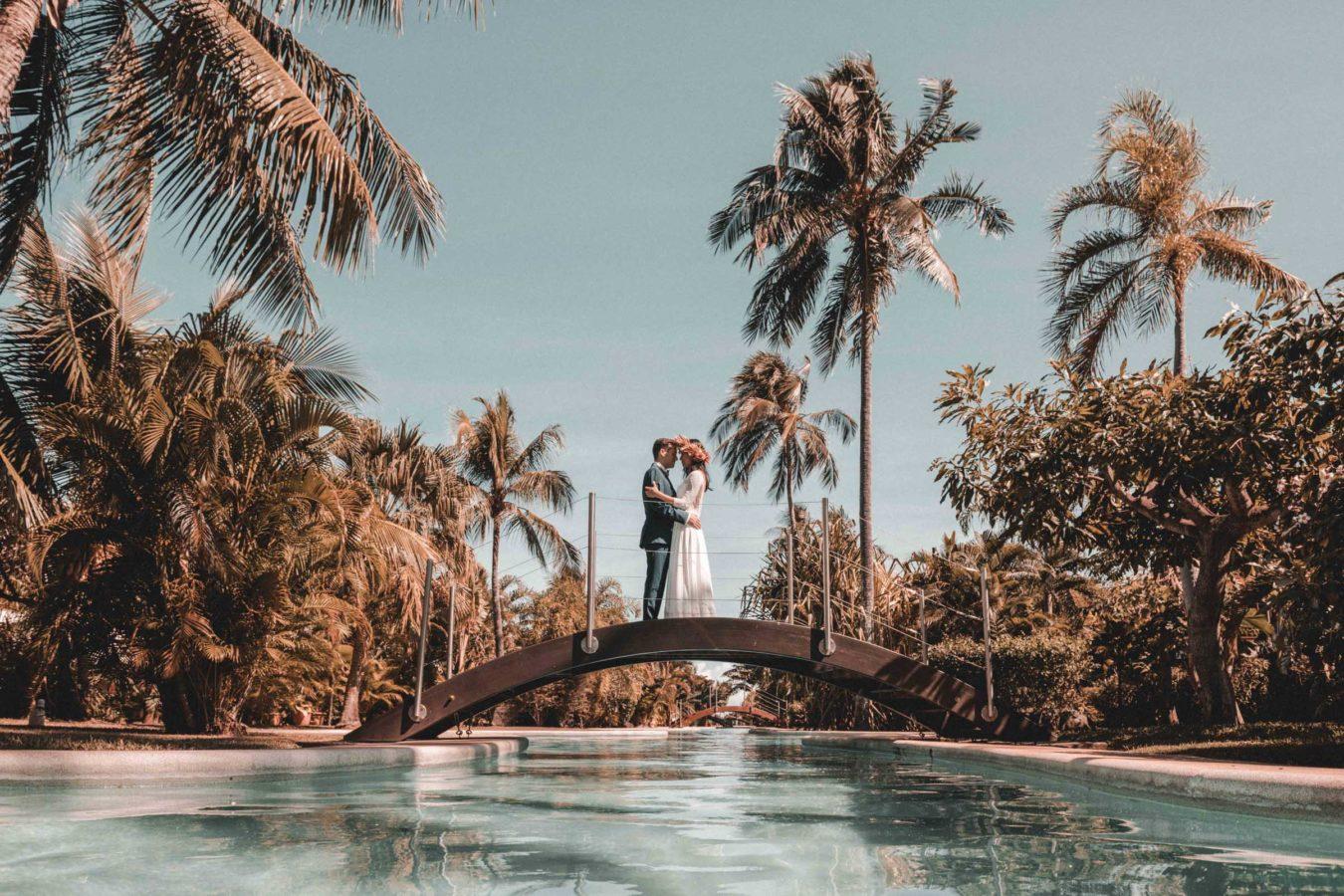 Mariage Carlton Beach Tahiti