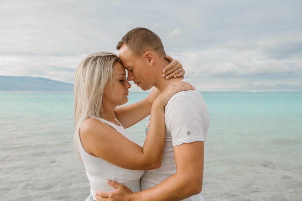 Couple photoshoot Sofitel Moorea
