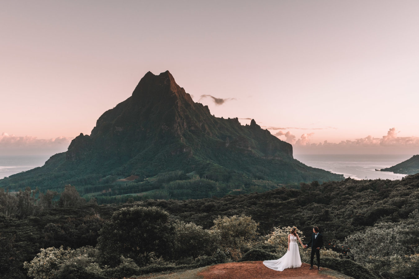Photo Trash The Dress Moorea