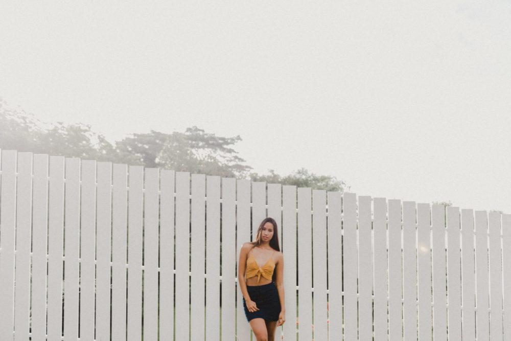 Portrait photoshoot in Tahiti