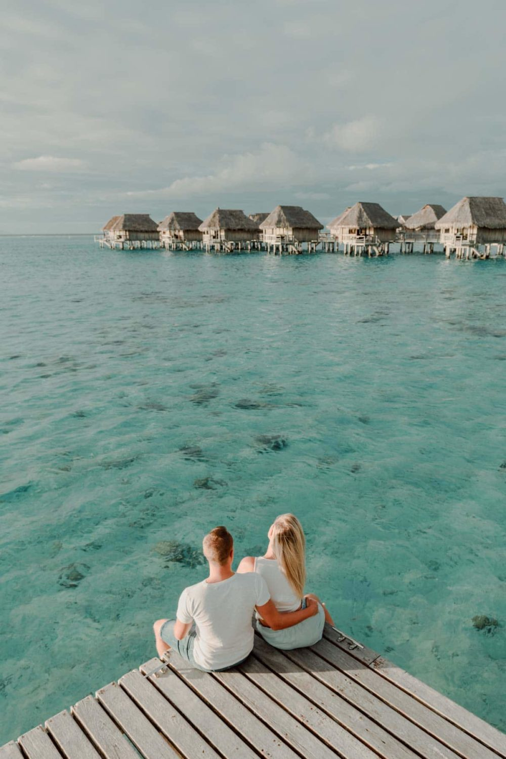 Seance photo couple Sofitel Moorea