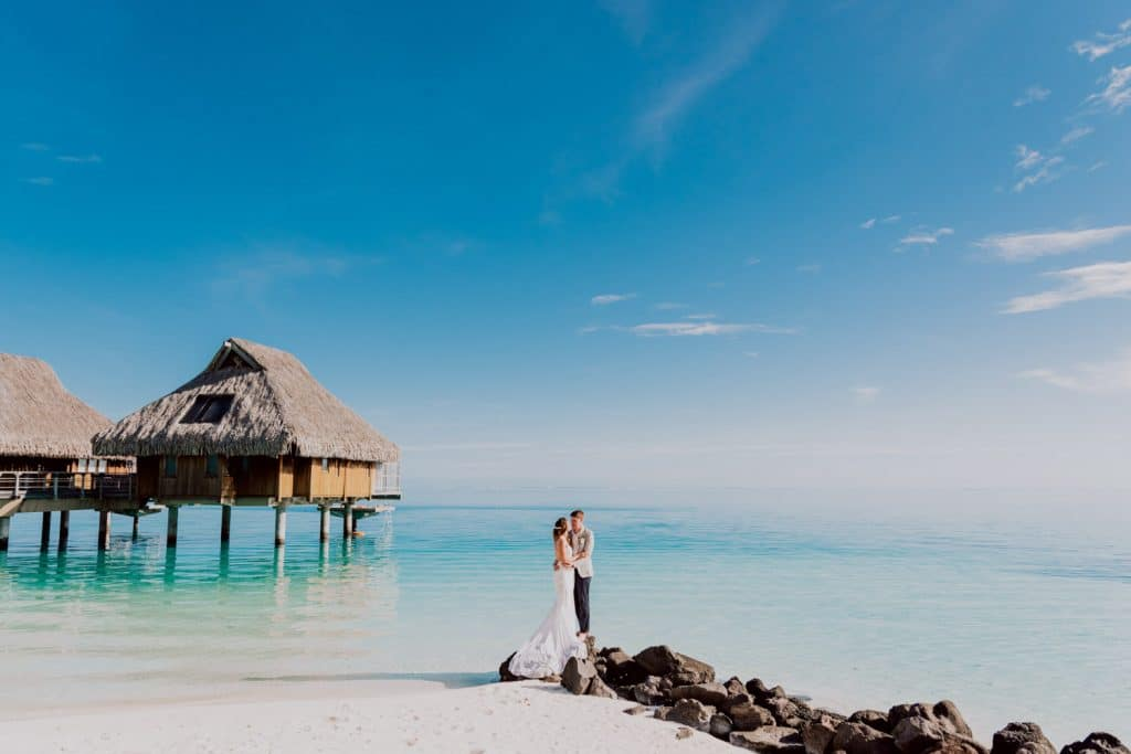 Photoshoot at The Conrad Bora Bora