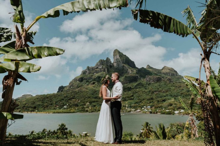 Séance photo couple Bora Bora