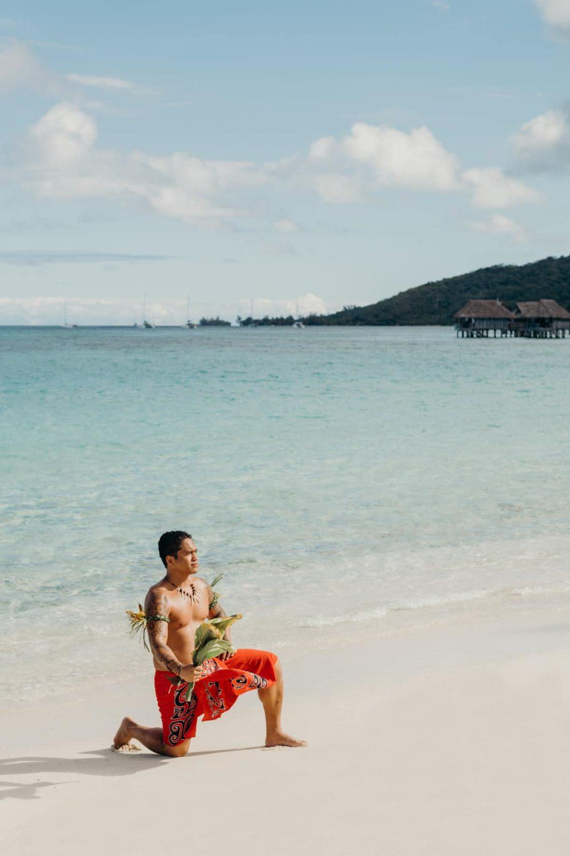 Photographe mariage moorea Sofitel