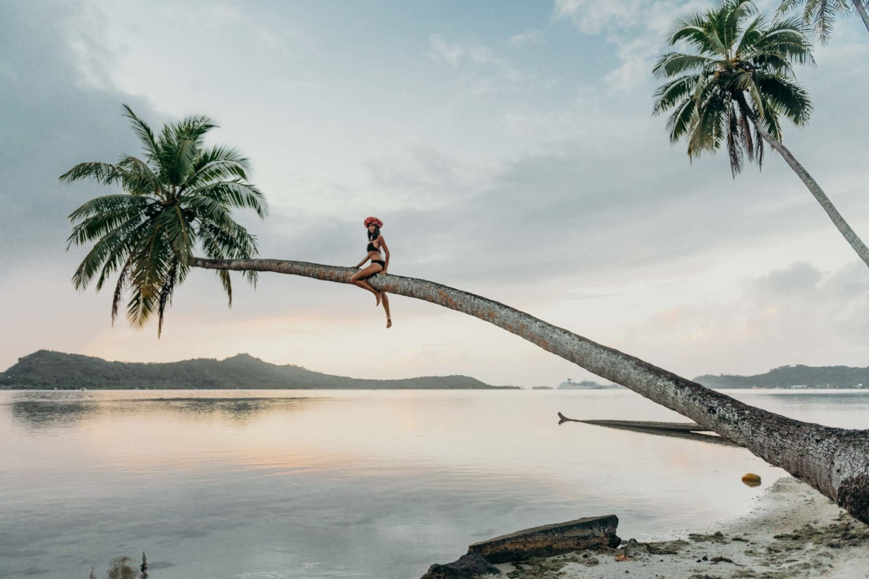 Séance photo portrait Bora Bora