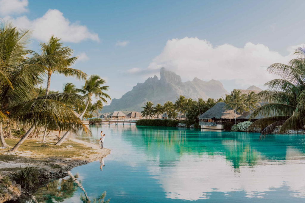 photoshoot in bora bora four seasons