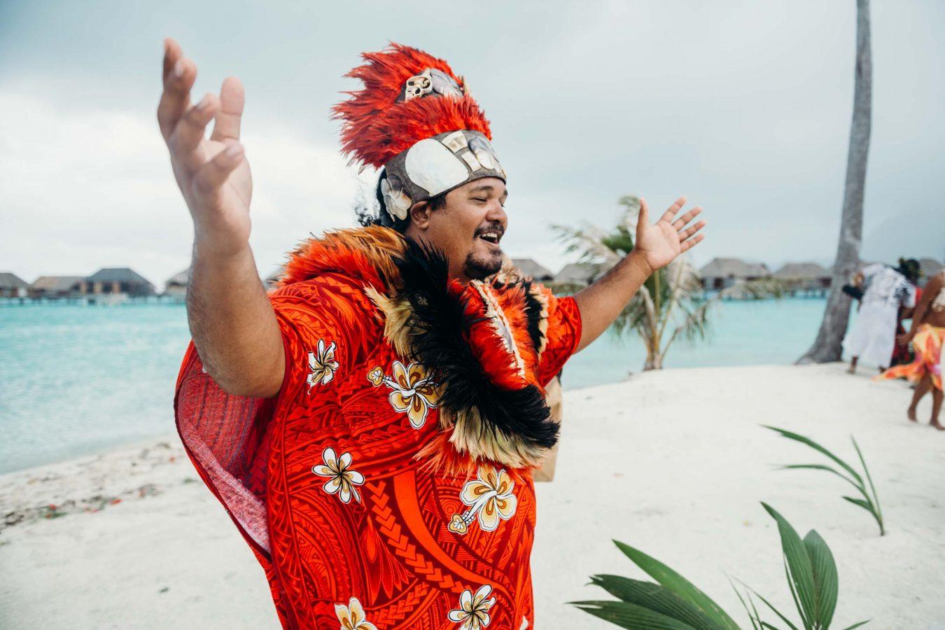 Wedding Four Seasons Bora Bora