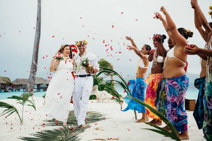 Wedding Four Seasons Bora Bora