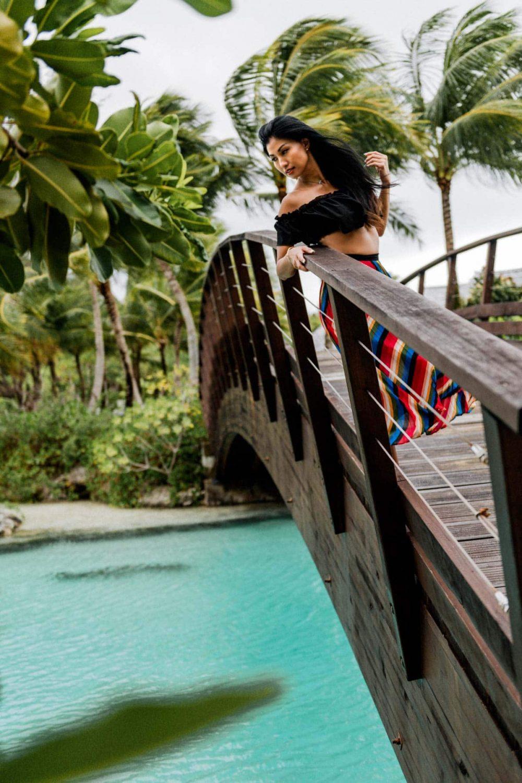 Portrait photoshoot St Régis Bora Bora