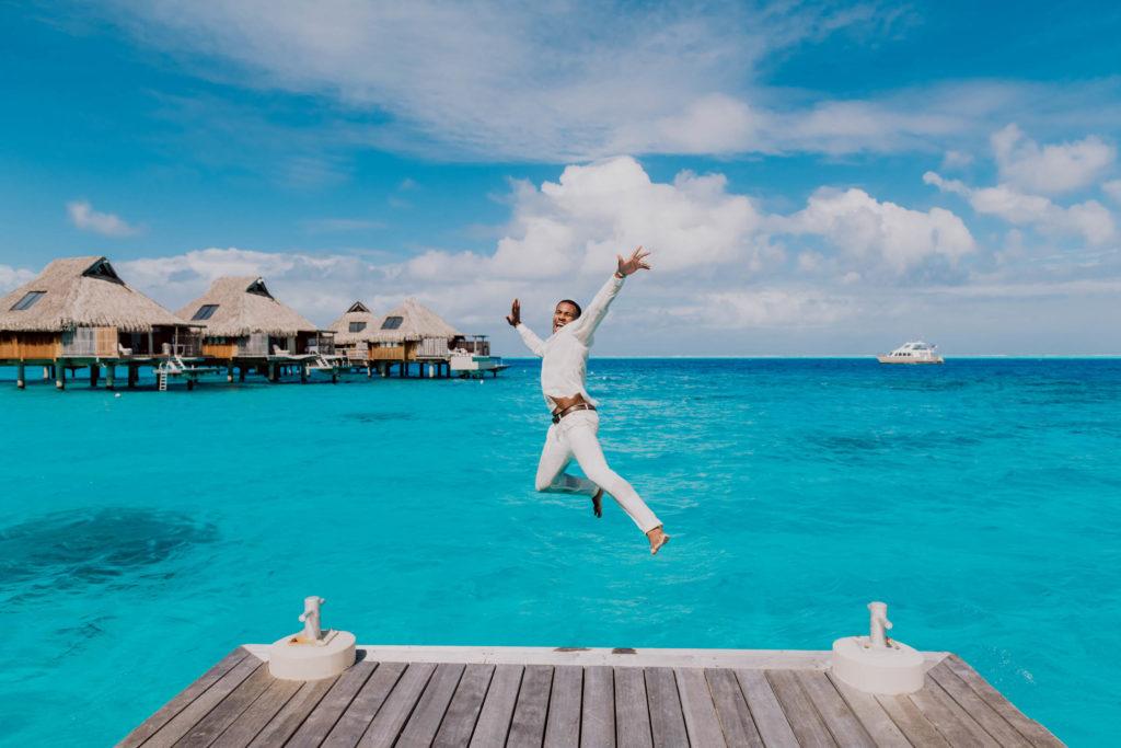 Main Dock Conrad Bora Bora