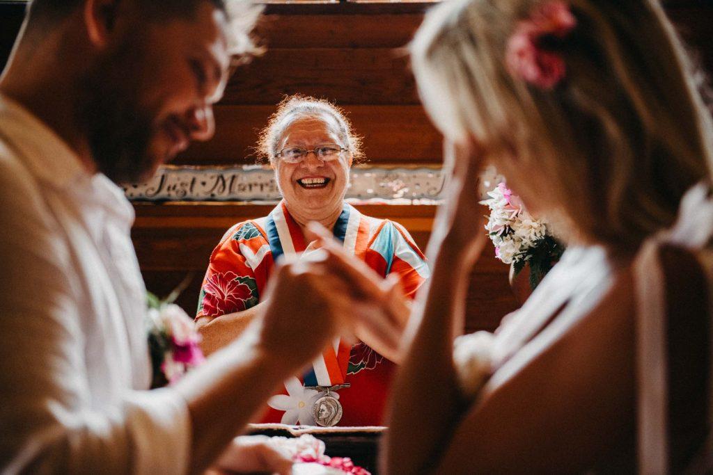 Mariage civil bora bora