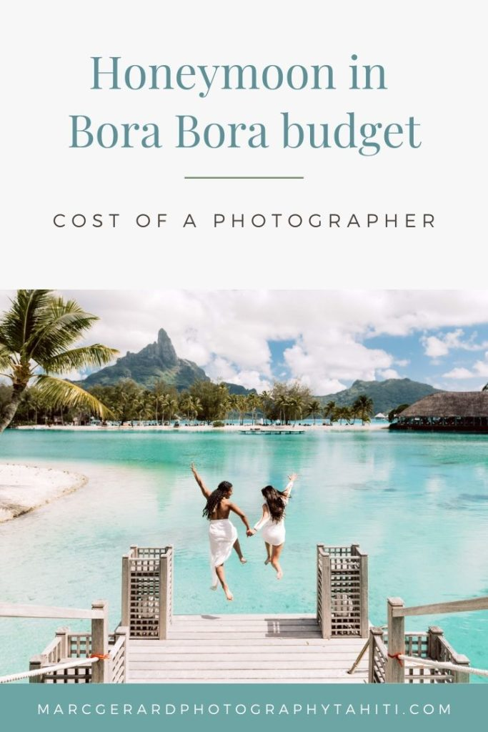 Bora Bora Photographer Price - Pinterest vignette