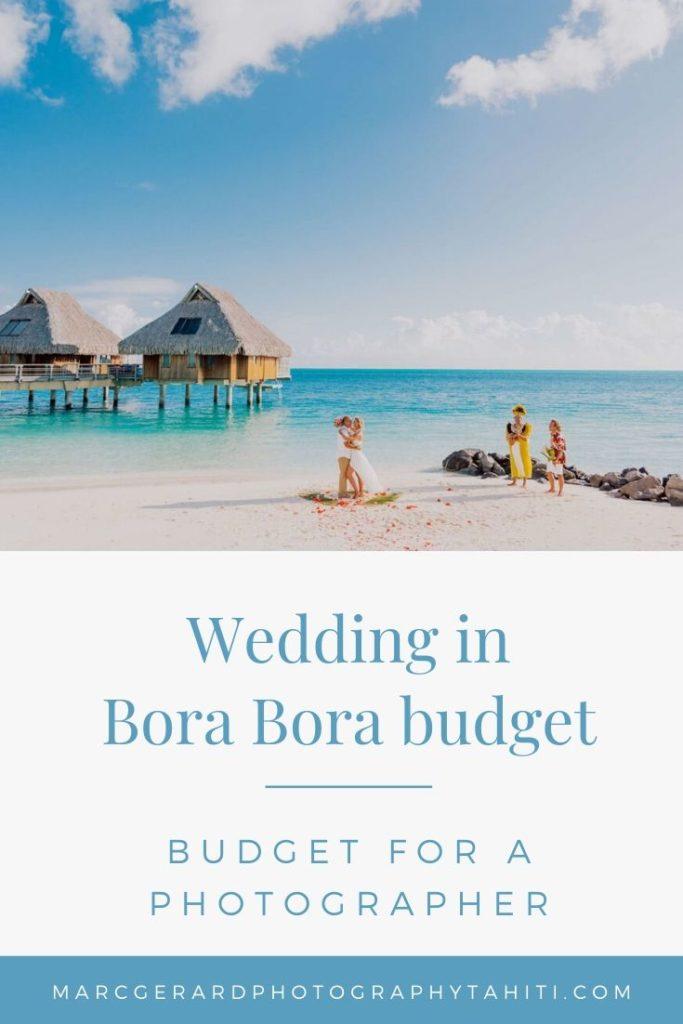 Bora Bora Photographer Cost - Pinterest vignette