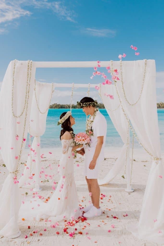 Prix photographe mariage Bora Bora