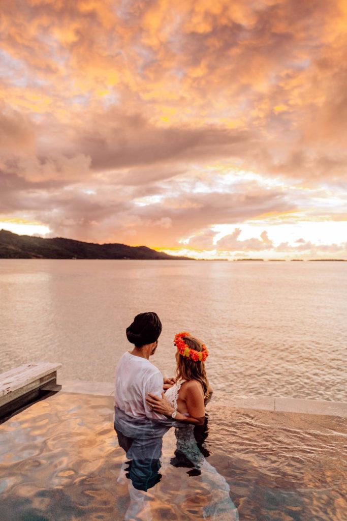 Weather in Bora Bora - Sunsets