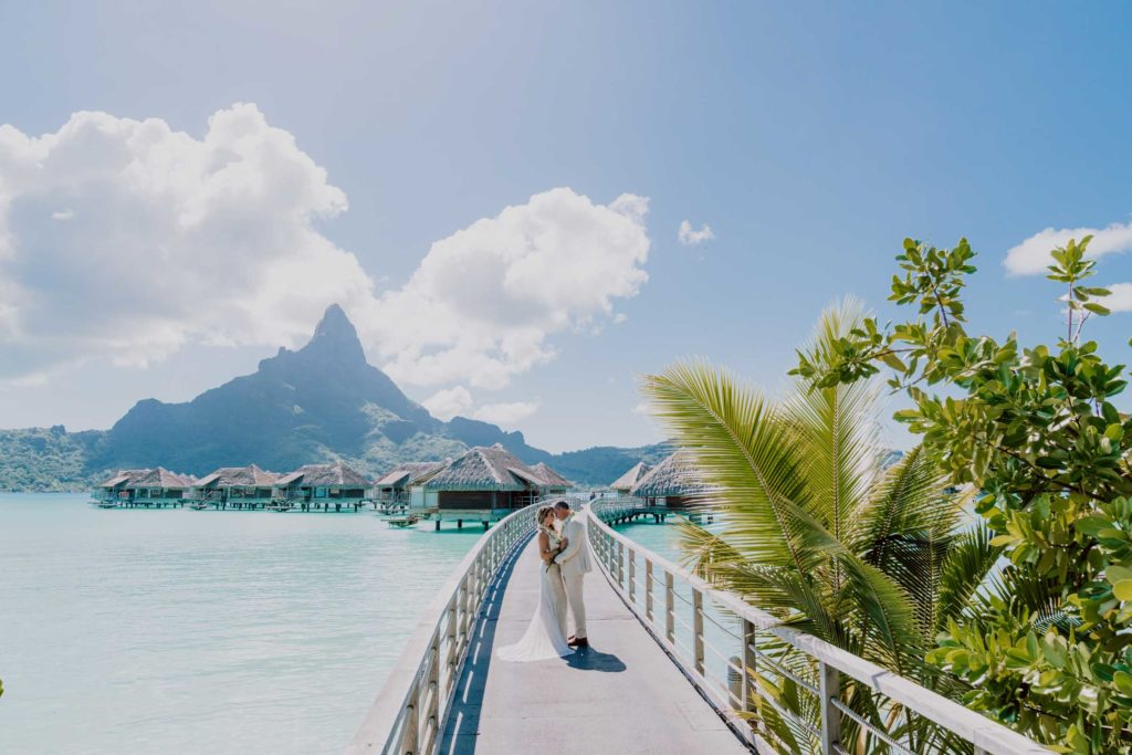 photoshoot at the Intercontinental Thalasso Bora Bora