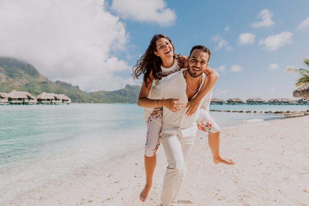 main beach Intercontinental Thalasso Bora Bora