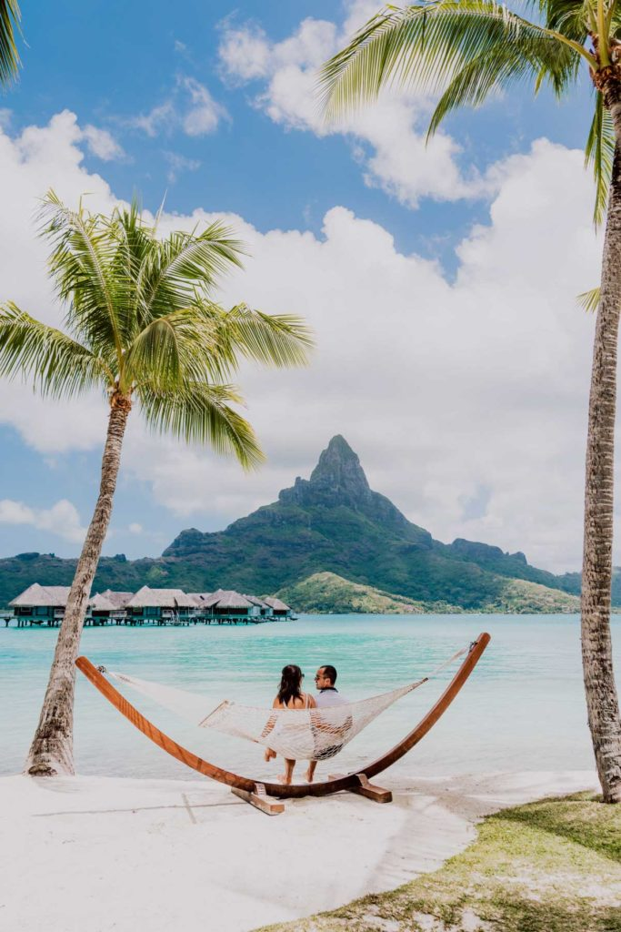 main beach Intercontinental Thalasso Bora Bora