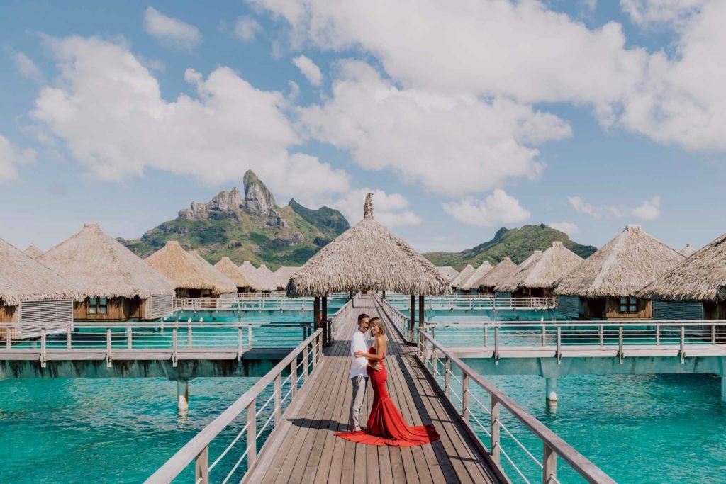 photo at the St Régis Bora Bora