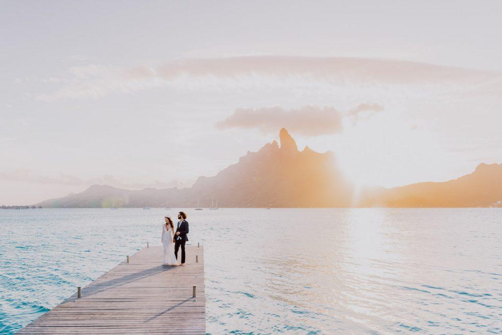 Se marier à Bora Bora au st regis
