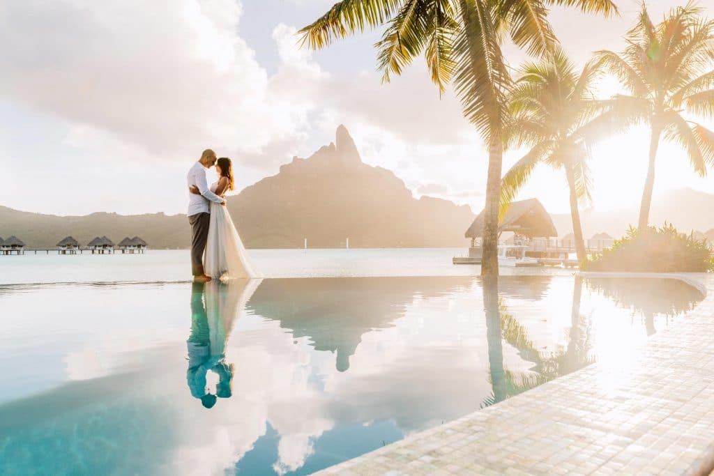 Se marier à Bora Bora au méridien