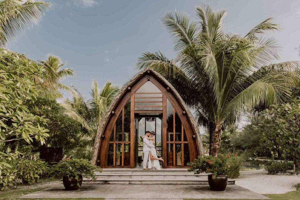 Se marier à Bora Bora dans une chapelle