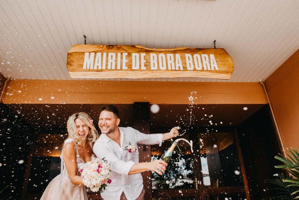 Se marier légalement à Bora Bora