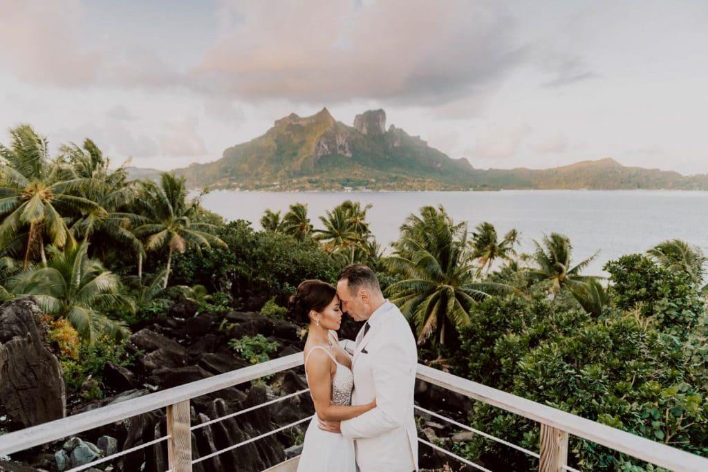 Se marier à Bora Bora