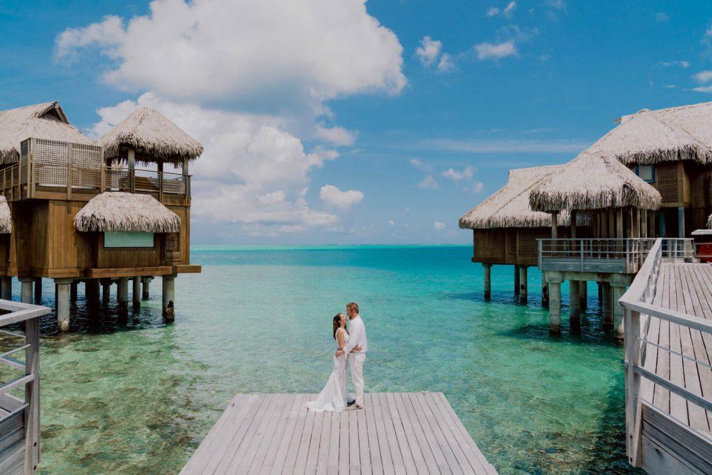 Se marier à Bora Bora au conrad