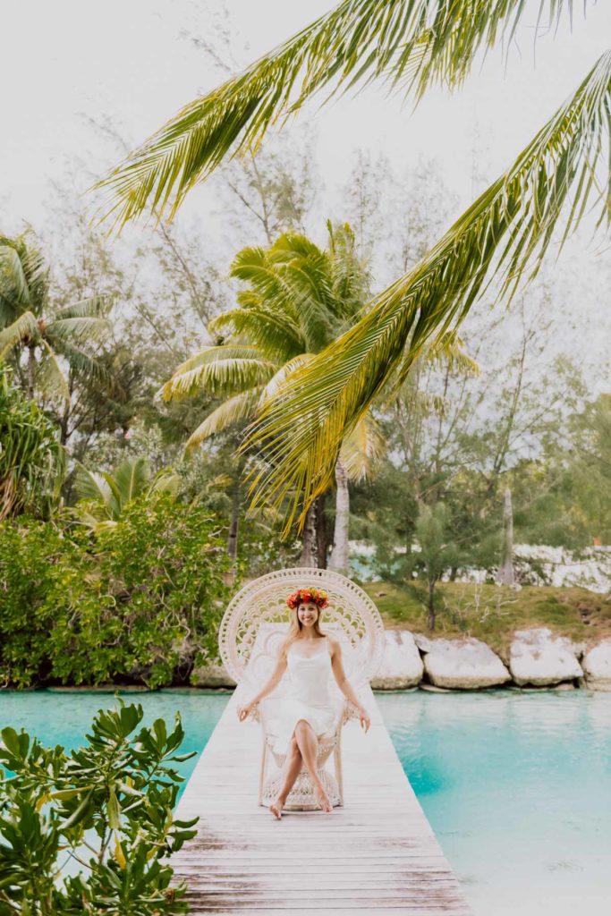 Bora Bora Photoshoot - Pomare chair