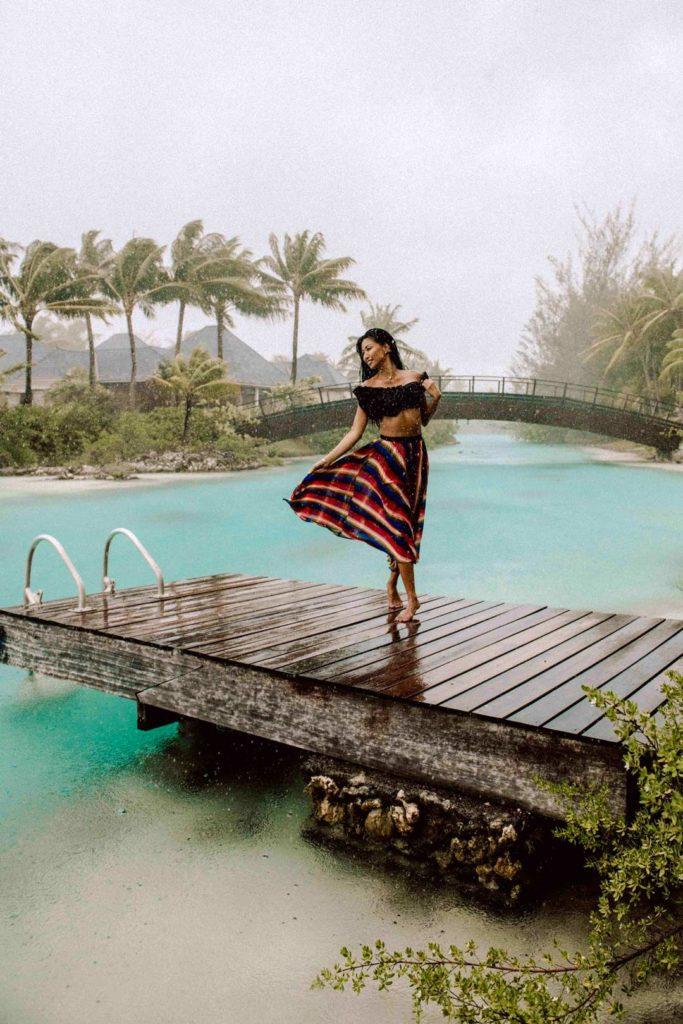 Weather in Bora Bora : rainy season