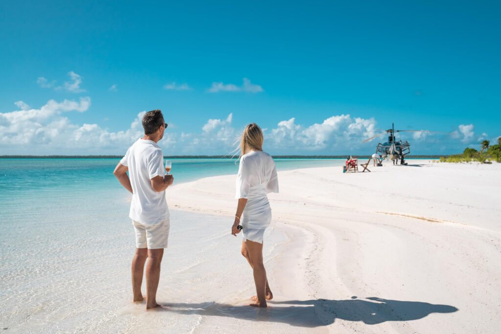 Bora Bora Prices : Helicopter tour