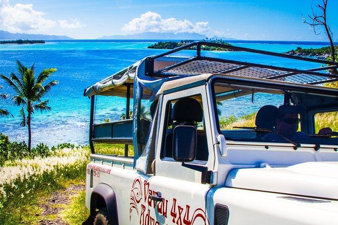 Best tours in Bora Bora - 4x4 tour