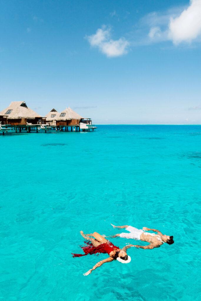 Photoshoot Conrad Bora Bora - Main dock