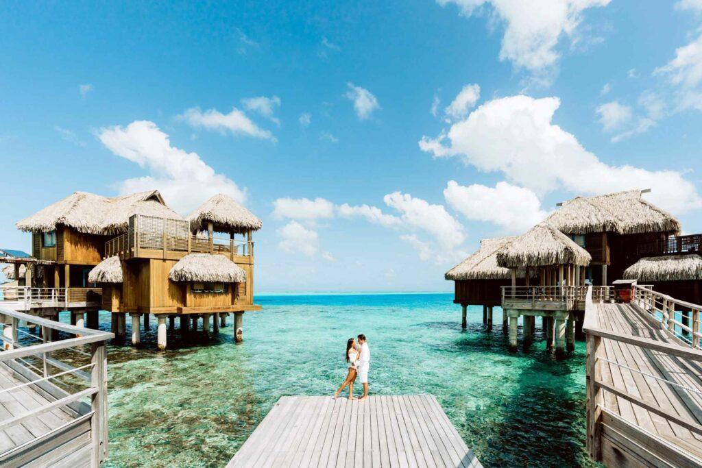 Photoshoot Conrad Bora Bora - Presidential villa