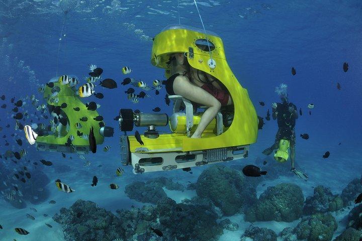 Best tours in Bora Bora - Underwater scooter